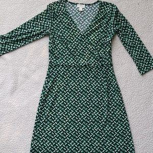Loft faux wrap dress